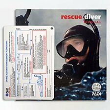 Padi Rescue Diver - Manual Crewpack DVD Ultimate current version