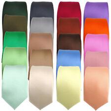 schmale TigerTieSatin Krawatte - Schlips Breite 6 cm - Krawatten 20 Farben - Tie