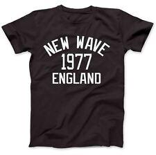 New Wave Music 1977 100% Camiseta Algodón Premium Post-Punk Rock Synthpop