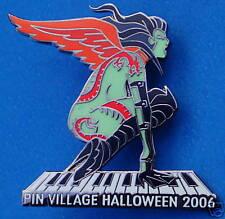 PINVILLAGE NAKED HALLOWEEN WINGED VAMPIRE DRAGON TATTOO GIRL PIANO HRC PIN LE RH