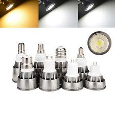 GU10/MR16/E27/GU5.3/E14 Dimmable LED COB Bulbs Spotlight 7W 9W 12W Lamp RD729
