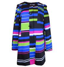 $139 Peter Nygard Striped Long Jacket, Size-8