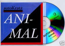 AUTOKRATZ Animal 2009 French 11-trk promo test CD