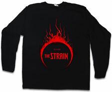 He is here i Logo Manica lunga T-shirt Guillermo del Toro vampiri the strain vampiro