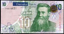 REPLACEMENT 2013 DANSKE BANK LTD belfast £10 banknote grades UNC EF VF F