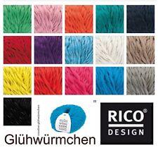 Rico Creative Glühwürmchen - 100g - reflektierende Wolle - Häckeln GP 5,49€/100g