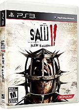 Saw II: Flesh & Blood (Sony PlayStation 3, 2010) Saw 2