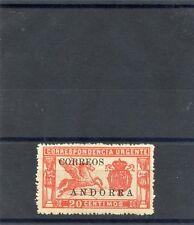 ANDORRA.  Sc  E1(SG E4)(ED 14)*F-VF OG TO LH, NO CONTROL NUMBER $250