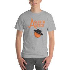 Anaheim Amigos - Retro Graphic UNISEX Short Sleeve Tee - ABA NBA
