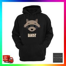 Bandit Raccoon Hoodie Hoody Trash Panda Chonki Meme Crave Cute Funny Junk Egg