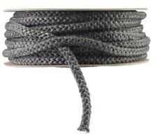Rutland Grapho-Glas Stove Gasket BULK FULL ROLL, Black Fiberglass Rope Tape NEW!