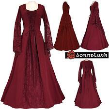 Medieval Ages Robe Costume Elisabeth Burgundy XS S m L XL XXL 56 58 60