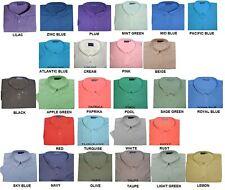 Spionaggio Easy Care ButtonDown Colletto Maniche Corte Camicie 2XL a 8XL, 24 Colori