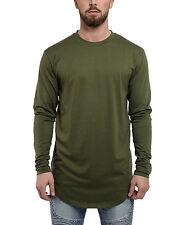 Phoenix oversized camuflaje Camiseta Olive manga larga señores Sweater manga larga té