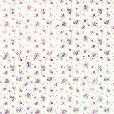 "100% PREMIUM COTTON FABRIC -140cm / 55"" Wide- VINTAGE/SHABBY CHIC -DITSY FLOWERS"