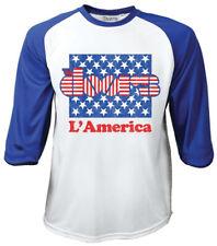 THE DOORS ' l 'America' 3/4 Longitud de la manga Camiseta Béisbol -