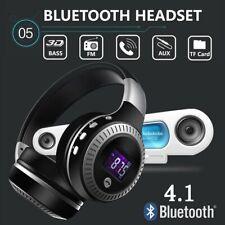 New Wireless Headphones Noise Cancel Bluetooth Headset HiFi Bass Stereo Earphone
