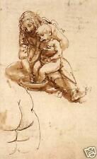 Da Vinci Drawings: il Bagnetto  - Fine Art Print