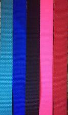 "3/4 inch Width Nylon Webbing - Various Colors - 3/4"" Nylon Strap"