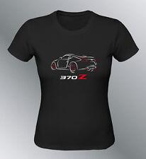 Tee shirt personnalise 370Z S M XL XXL femme 370 Z line