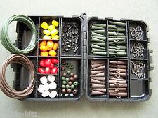 Tackle box carp safety clips Imitation Pop Up Sweetcorn Hooks Swivels Rig Tube +