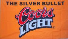 NEW 3X5FT COORS LIGHT BEER FLAG SPORTS BAR BANNER