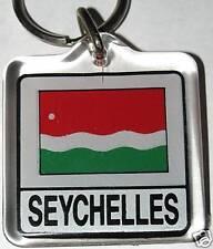 Seychelles (1977-1996) Historic Flag Key Chain NEW