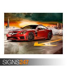 Mercedes Benz Carlsson C25 Super GT (0277) cartel de auto-foto arte cartel impresión