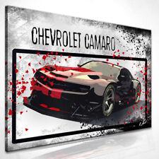 Auto Chevrolet Camaro Pop Art Bild Auf Leinwand Kunst Bilder Wandbilder D0894