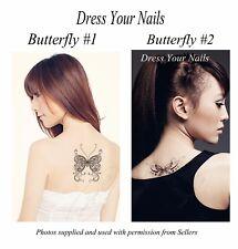 Tattoo - Swarovski Crystal Elements Temporary Butterfly Body Tattoo Christmas