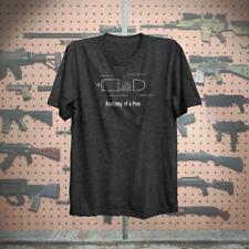Anatomy Of A Pew Gun rights 2nd amendment Hillarious Tshirt fitted soft Tshirt