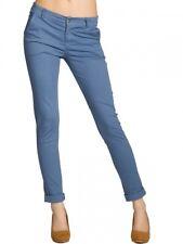 CASPAR KHS037 Donna Pantaloni Stretti di Cotone Skinny Lunghi Aderenti Stretch