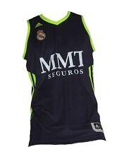 Real Madrid Basketball Trikot Adidas Shirt Jersey Navy Maillot Camiseta Maglia