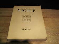 Vigile. premier cahier 1930 Claudel, Maritain, Mauriac