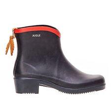 Aigle Miss Juliette Short Marine Womens Boots