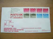 FDC Philato met postzegelboekje 25a + aanhangsel