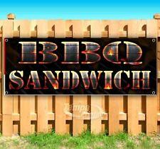 Bbq Sandwich Advertising Vinyl Banner Flag Sign Many Sizes Usa