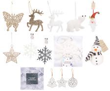 Árbol de Navidad decoración de oro brillo Star, Reno, Oso 10 xbutterflies, 4 xsnowflakes