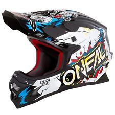 O'Neal 3Series Villain Kinder Jugend Motocross Helm Enduro Cross Offroad FMX