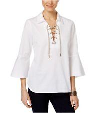 G.H. Bass & Co. Womens Cotton Knit Blouse