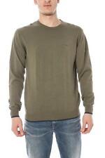 Maglia Armani Jeans AJ Sweater Pullover -50% Uomo Verde U6W83KT-6H SALDI