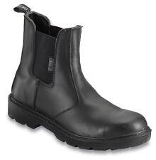 Mens Contractor Dealer Boot Black Various Size 812SM