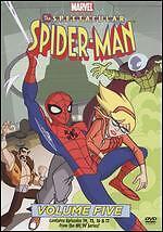 The Spectacular Spider-Man: Volume Five (DVD, 2009)