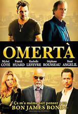Omerta (DVD, 2012, Canadian) Michel Côté, Patrick Huard, René Angelil
