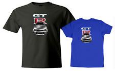 Adults Man Women Kid Boy Girl T-Shirt GTR T Shirt Racing R33 Turbo Car