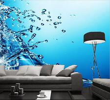 3D Flying Water 534 WallPaper Murals Wall Print Decal Wall Deco AJ WALLPAPER