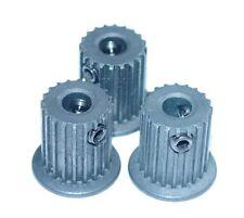 3 X Timing Pulley 5mm, Pitch 2mm Nema 17 Stepper RepRap Prusa Mendel Huxley CNC