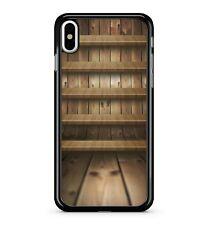 bois étagères Meuble Rangement Meuble magique effet 2D étui de téléphone