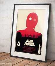 🎨 Poster Star Wars Guerre Stellari Film Signage Stampa Fine Art di Pregio 🖌