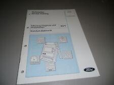 Technische Information Training Ford Komfort Elektronik Elektrik Diagnose, 1998
